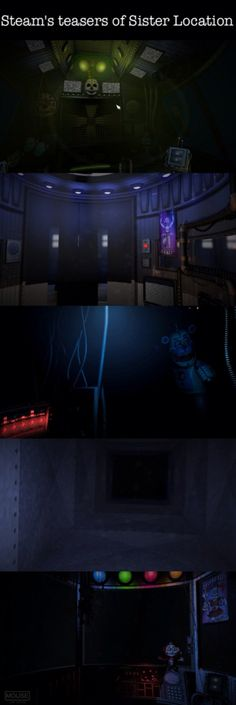 New teaser images on Steam for Sister Location!!