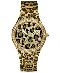 GUESS leopard watch<3 I have this:D