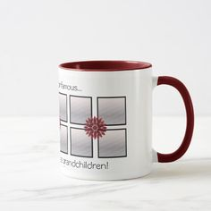 Floral Photo Keepsake Mug Grandma Gifts, Gifts For Dad, Great Gifts, Coffee Cups, Tea Cups, Mother's Day Mugs, Candy Jars, Mother Day Gifts, Photo Mugs