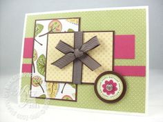 Stampin up Tall Tales Designer Paper Mojo 94..by Mary Fish