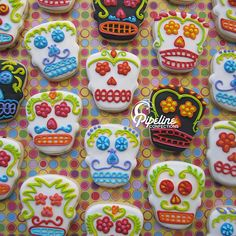 Bought a skull cookies cutter today. Gonna make these around Halloween!