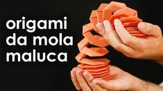 Como fazer uma mola maluca de papel usando dobradura Veja quem é o Jo Nakashima: http://goo.gl/5rCmJ Borboleta de origami passo a passo: http://goo.gl/vzQs3 ...