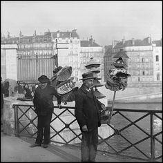 Vieux métiers de Paris -1900- Le marchand d'abats-jour