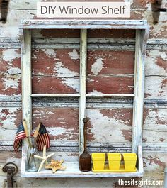 DIY Window Shelf   M