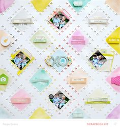 Xo by paige evans scrapbooking layout