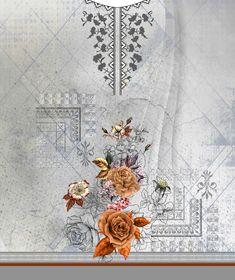 Textiles, Textile Prints, Textile Patterns, Textile Design, Print Patterns, Couture Embroidery, Embroidery Designs, Digital Pattern, Paint Designs