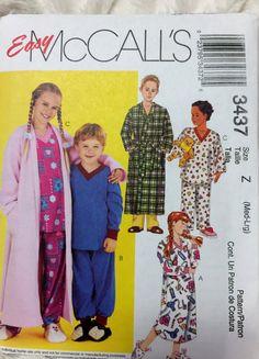 McCall's Fashion for children boys girls robe by Vntgfindz on Etsy