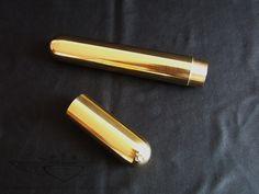 Zigarrenetui 24 karat vergoldet