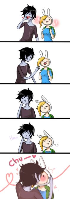 marshall lee x fionna | Tumblr
