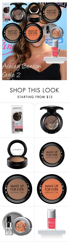 """""""Ashley Benson Style 2"""" by oroartye-1 on Polyvore featuring beauty, Umberto, MAC Cosmetics, MAKE UP FOR EVER, Stila and Christian Dior"""