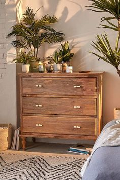 We're All About Urban Outfitters' New Boho Furniture Collection Plywood Furniture, Bedroom Furniture, Bedroom Decor, Bedroom Ideas, Ikea Bedroom, Cosy Bedroom, Budget Bedroom, Bedroom Storage, Bedroom Colors