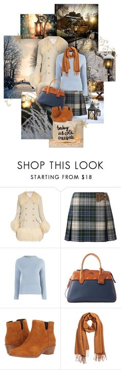 """""""Winter Lanterns"""" by sagramora ❤ liked on Polyvore featuring Sonia Rykiel, Polo Ralph Lauren, Dooney & Bourke, Cole Haan and H&M"""