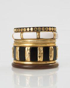 1.2.3 Paris - Les accessoires printemps-été 2016 - Set bracelets noirs Xalain 29€ #123paris #mode #fashion #shopping #accessoire #accessories #jewel #bijou