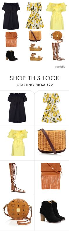 """""""opciones"""" by pauleblu on Polyvore featuring moda, Clu, Dolce&Gabbana, WithChic, Rachel Comey, Louise et Cie, Urban Originals, MCM, Steve Madden y women's clothing"""