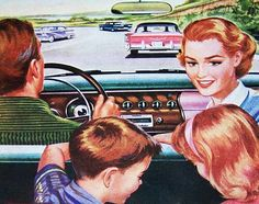 Fifties Family Road Trip