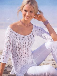 blusa trico verão receita - Pesquisa Google