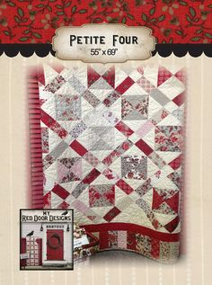 Petite Four PDF quilt pattern by myreddoordesigns on Etsy, $6.50  This pattern is charm pack friendly.