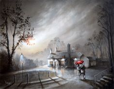 Browse and buy the latest artwork from the artist Bob Barker. Buy prints and original art by Bob. Nostalgic Art, Landscape Drawings, Landscapes, English Artists, Urban Life, Vincent Van Gogh, Art World, Contemporary Art, Art Gallery