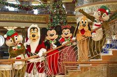 Disney Cruise Line has announced its lineup of holiday cruises, which kick off this November onboard the Disney Magic, Disney Wonder, Disney Dream or Disney Fantasy. Disney World Resorts, Disney Vacations, Family Vacations, Disney Parks, Walt Disney, Magic Vacations, Disney Word, Disney 2015, Family Cruise