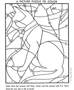 hidden picture coloring page free printable hidden cat coloring pages featuring animals and objects to find