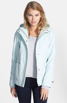 CELEBRITY PINK Hooded A-Line Coat (Juniors) on shopstyle.com