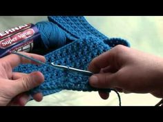 ▶ How To Criss Cross Crochet - YouTube