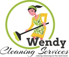 Logo design for wendy cleaning services