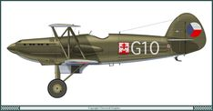 Avia B.534-I Czech Air Force (1937)
