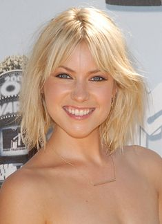 fun long bob, fine hair, side swepped bangs