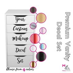 Imagine having your vanity area set up to makeup. All of your beauty supplies or. - office - Make up Makeup Haul, Beauty Makeup, Eye Makeup, Beauty Dupes, Daily Makeup, Makeup Style, Prom Makeup, Everyday Makeup, Beauty Hacks