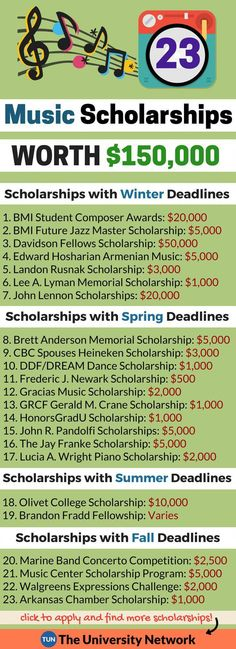 Scholarships: Music KVP Educational Consulting helps students like you find ways to pay for a college education.kvpeduconsult… - College Scholarships Tips Financial Aid For College, College Planning, Education College, Music Education, College Teaching, College Savings, Physical Education, Classical Education, Teaching Music