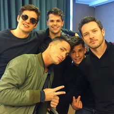 Teen Wolf ... Daniel Sharman, Colton Haynes, Charlie Carver, Max Carver and Ian Bohen as Isaac, Jackson, Ehtan, Aiden and Peter