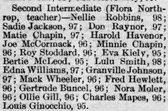 Reno Gazette-Journal, 8 Mar 1890, Sat, Main Edition  Gertrude Buncel (Gertie) makes honor roll