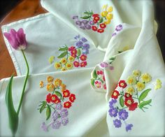 Check out this item in my Etsy shop https://www.etsy.com/uk/listing/525036473/hand-embroidered-vintage-primrose-linen