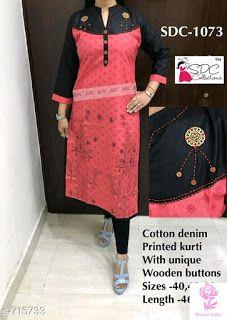 SDC Kurti: COD available whatsapp +919199626046, Shipping all over India Latest Kurti Design LATEST KURTI DESIGN | IN.PINTEREST.COM FASHION EDUCRATSWEB