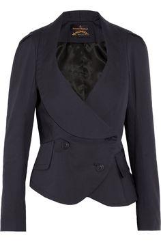 Vivienne Westwood Anglomania Tempest de Corps stretch-cotton blend jacket NET-A-PORTER.COM