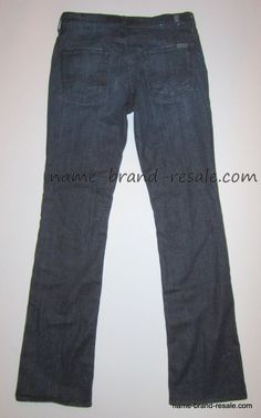 Details about 7 FOR ALL MANKIND Jeans CROP DOJO Womens 29 Designer ...