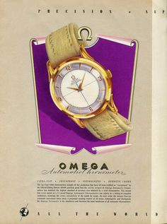 1949 Omega ‹ Strickland Vintage Watches