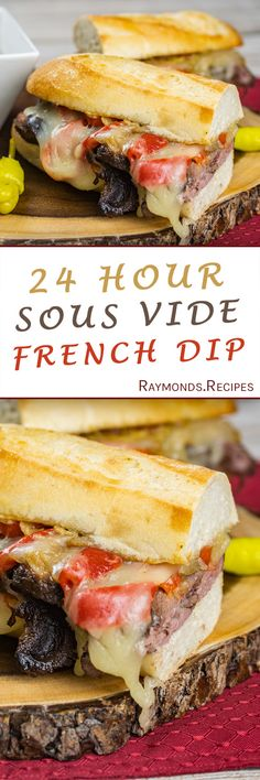 Sous Vide French Dip Sandwich | Raymond's Food