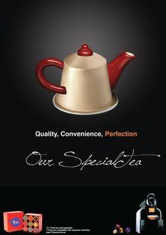 Morning! :) Tea Nespresso #Advertising