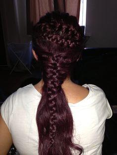 Combination braid