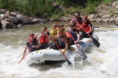 "Experience the excitement of a Durango rafting adventure! With over a million dollars in improvements and additions, new thrills await you in the new Smelter whitewater park! Splash through ""Smelter"", ""Santa Rita"", ""Sawmill"" and ""Pinball"" rapids as part of your Durango rafting adventure on the Animas River!"