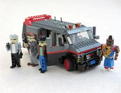 Cool Movie Cars Made Out Of Lego