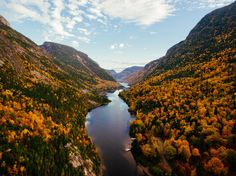 EarthPorn is your community of landscape photographers and those who appreciate the natural beauty of our home planet. Malbaie, Parc National, Landscape Photographers, Aerial View, Natural Beauty, Scenery, Places To Visit, Earth, Colours