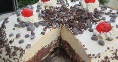 Εύκολη τούρτα κατσαρόλας με σοκολάτα και μπισκότα, χωρίς παντεσπάνι, έτοιμη σε 25 λεπτά