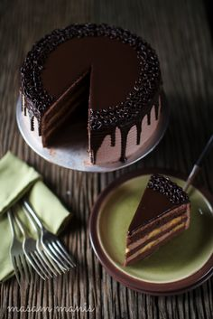 masam manis: BANANA CHOCOLATE MOUSSE CAKE