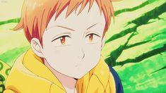 Seven Deadly Sins Anime, 7 Deadly Sins, Anime Best Friends, Hachiko Statue, Anime Manga, Anime Guys, King Gif, 7 Sins, Seven Deady Sins