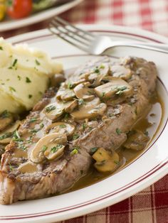 Steak Diane with mushrooms and is gluten, dairy free. Easy to make and delicious. Traditionally Steak Diane is a steak that is pan fried and the sauce is made from the pan juices and sometimes flambeed. This is my version but with a creamy mushroom sauce.  The steaks cook up nice and tender and the […]