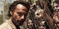 The Walking Dead star Andrew Lincoln recently warned fans that the worst is yet to come. Those of you who haven't caught up on the current season of AMC's hit zombie series should proceed . Walking Dead Season 4, Walking Dead Zombies, Fear The Walking Dead, Rick Grimes, Jeffrey Dean Morgan, Andrew Lincoln, Brave, Fan Theories, Chandler Riggs