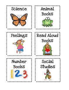 Book Labels Freebie